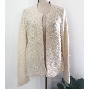 NWT Eileen Fisher Peruvian Organic Cotton Cardigan